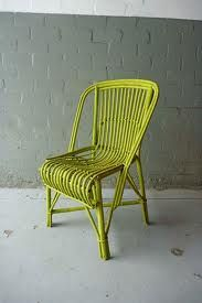 painted cane chairs - Google Search
