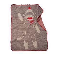 Sock Monkey Blanket 1