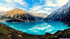 Almaty clouds forest lake mountains nature reflection widescreen desktop mobile iphone android hd wallpaper and desktop. Tv Samsung, Kazakhstan Travel, Landscape Wallpaper, Central Asia, Led, Nature Photos, Nature Hd, Beautiful World, Cloud
