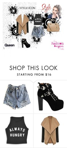 """""""Untitled #8"""" by medina-93 ❤ liked on Polyvore featuring Jeffrey Campbell, WearAll and MICHAEL Michael Kors"""