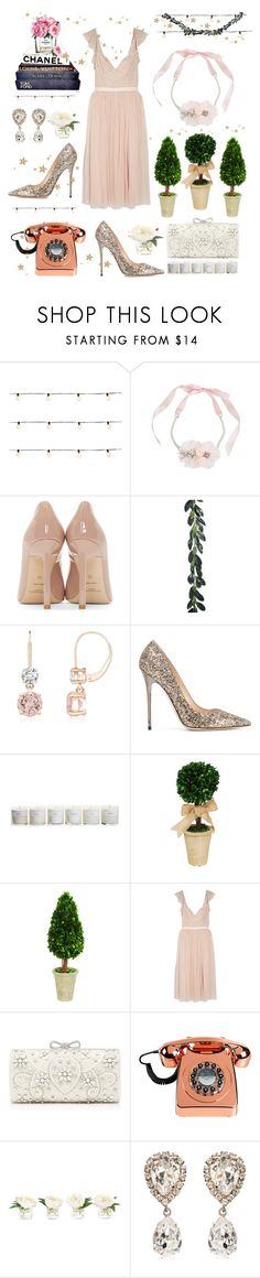 """Find a little Magic"" by jonnabobana ❤ liked on Polyvore featuring Front Porch, Betsey Johnson, Yves Saint Laurent, Jimmy Choo, Hawkins, Sage & Co., Needle & Thread, Forever New, NDI and Dolce&Gabbana"