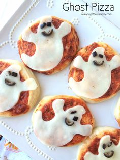 GHOST PIZZA | Halloween giveaway & round-up with lots of fun ideas! Come enter to WIN a $60 AMAZON GIFTCARD!! www.togetherasfamily.com