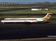 N817NY MD-82 Continental Airlines