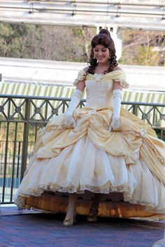 Belle and her new dress #redesign