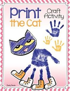 "Print the CatEnjoy this fun activity to help your students' creativity after reading Kimberly & James Dean's ""Pete the Cat"" books. You might also like:Pete the Cat - ActivitiesPete the Cat - Color by NumberThank you for stopping by. :)___________________________________________________________This material was all made with Cheeky Cherubs clipart.Follow my main character on InstagramCheck out my Pinterest pageFollow me on Facebook"