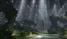 ArtStation - 2014 | Concept art | Film project | Alien5 | Neill Blomkamp | Weyland, Geoffroy Thoorens