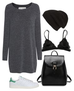 """The comfiest"" by thefashionguilty on Polyvore featuring moda, Fine Collection, adidas y Phase 3"