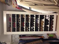 Shoe storage that Mom built!