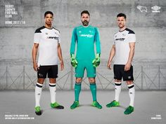 Derby County 2017/2018 Home Kit