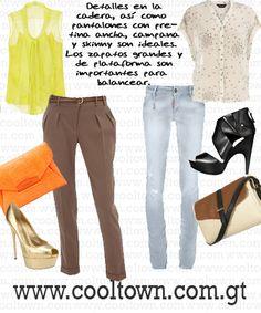 Silueta: Triángulo Invertido | Styling Tip: El Pantalón que Mejor te Luce | CoolTown Fashion