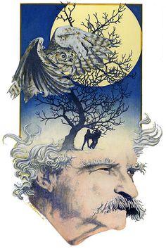 Mark Twain Painting done a few years ago.