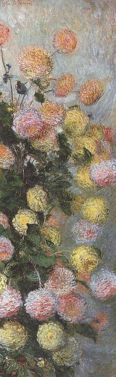 Dahlias (C Monet - W 932),1883.