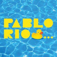 Versión de logotipo oficial para verano 2018 / Cliente: Pablo Ríos / 2018 Logos, Summer Time