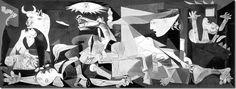 Guernica, 1937, Picasso, huile sur toile.