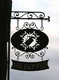 Rouen, France Blade Sign, Shop Signage, Signs Of Life, Different Signs, Old Pub, Pub Signs, Iron Art, Old World Charm, Hanging Signs