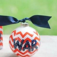 Auburn Unviersity Chevron Ornament... War Eagle!