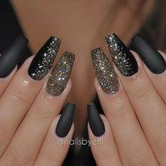 """Nail inspiration by @nailsbyeffi #CoffinNails"""