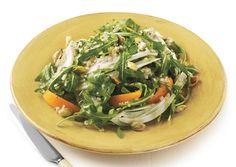 Arugula, Fennel, and Apricot Salad