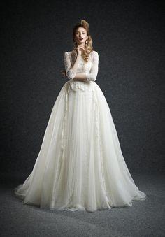 Vestido de novia corte princesa   bodatotal.com   wedding dress, bride to be, novias, bodas, wedding ideas