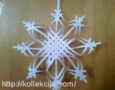 The bulk of the paper snowflake
