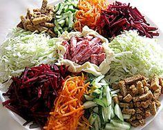 Салат «Козел в огороде» с морковью по-корейски
