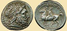 ANCIENT GREEK COIN (PHILIPPUS-ΦΙΛΙΠΠΟΣ)