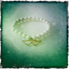 isiljakob.com  14 ct. gold hand made angel bracelet