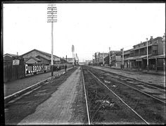 Hunter Street West, Newcastle NSW, 10 June 1896 | by UON Library,University of Newcastle, Australia