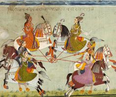 Women Playing Polo‬ C 1660