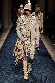 Balmain Spring-summer 2016 - Menswear