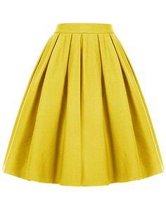 Dresstells Women's High Waist Casual Skirt Skater Pleated... https://www.amazon.com/dp/B01N2GN838/ref=cm_sw_r_pi_awdb_x_puVQybSRD4PH8