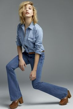 Hailey Baldwin lands her first major fashion campaign for Topshop.