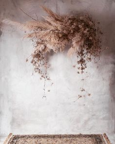 Inspiration pampas and dried flowers bouquet / inspo pampa and dried flowers ♥ Deco Floral, Floral Design, Floral Wedding, Wedding Flowers, Wedding Bouquet, Fall Flowers, Flowers Garden, Trendy Wedding, Twine Flowers