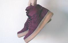 Nike Air Force 1 High Suede Sneakers
