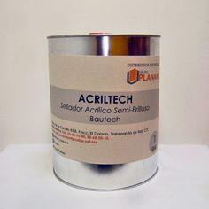 Sellador Acriltech base solvente acabado semi-brilloso para cualquier tipo de superficie  http://www.planarc.com.mx/nuestros-productos/bautech/selladores/