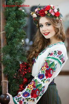 True Girl like Fashition Ukraine Women, Ukraine Girls, Russian Beauty, Russian Fashion, Eslava, Ukrainian Dress, Ethno Style, Costumes Around The World, Russian Culture