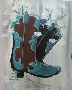Rubber Rain Boots, Cowboy Boots, Choices, Painting, Fashion, Moda, Fashion Styles, Painting Art, Paintings