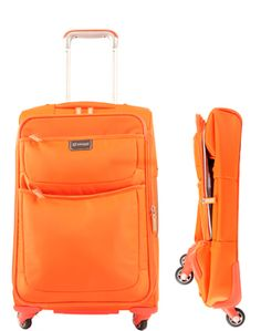 "Contempo 22"" Foldable Spinner Carry-On"
