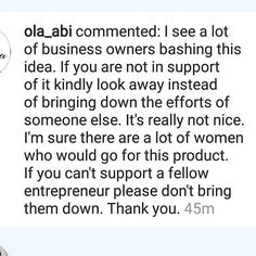 """""""Someone please find @ola_abi And kiss her for me, look into her eyes and say on behalf of Reshapeme Nigeria, GOD BLESS YOU!! 💋😍😘🙏 💋. I swear I am still shocked by comments dropped by business owners on my sponsored post! Really sister?? DAMMIT!! I'm here trying to remember if I owe any of them money or if I offended them in the past 😭😥😥. Sister please it's just an advertisement for people who are interested or who needs the wrap to know something like this is available! No one is…"""