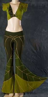 Leaf MeloPhoenix - love this brand, love these dancy leaf pants!