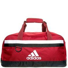 Tiro Teambag L Fußballtasche    Mit dieser Fußballtasche hast du einen coolen Auftritt und bekommst alles verstaut, was du für dein Spiel benötigst.     Details:  Gepolsterter und verstellbarer Tragegurt / Interessanter Materialmix / Bodennoppen / Reißverschlusstasche für Wertsachen / Integriertes Design    Farbe: power red / white (rot / weiß)    Geschlecht: Unisex  Größe: OneSize  Material: 1...