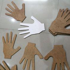 Life of hands. #Art #Installation #hands #mine #home #kkdi
