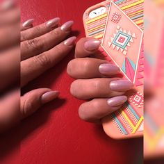 #Nails nude mermaid