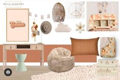 Weekly Moodboard Inspiration by the lovely Bella. She's nailed the colours and style as she usually does. Hands up if you love this? Has it given you some room makeover inspiration? x 📷@bella_interiors_23 Moodboard Inspiration, Bedroom Inspiration, Rattan Furniture, Cool Furniture, Shaka Sign, Tung Oil, Mood Boards, Kids Bedroom, Pastel