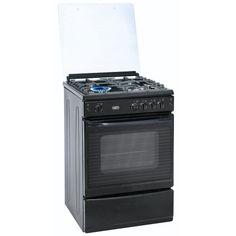 Defy 60CM 4 Burner Gas Stove Black DGS170 Cooking Appliances, Large Baskets, Gas Stove, Traditional Wedding, Kitchen Gadgets, Gas Oven