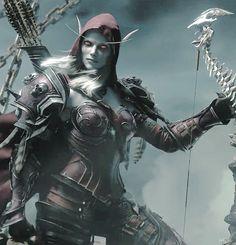 Lady Sylvanas - warcraft (gif)