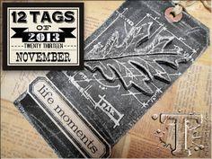 12 Tags of 2012 November