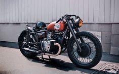 Alexander Semeniuk's M72 Bobber #motorcycles #bobber #motos   caferacerpasion.com