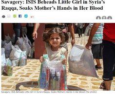【海外発!Breaking News】4歳少女を斬首したIS戦闘員 母親に「娘の血に手を浸せ」と命令(シリア) | Techinsight|海外セレブ、国内エンタメのオンリーワンをお届けするニュースサイト