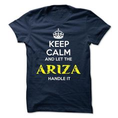 ARIZA - KEEP CALM AND LET THE ARIZA HANDLE IT - #design shirts #red sweatshirt. SAVE => https://www.sunfrog.com/Valentines/ARIZA--KEEP-CALM-AND-LET-THE-ARIZA-HANDLE-IT.html?id=60505